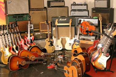 Big Scary Tree Recording guitars