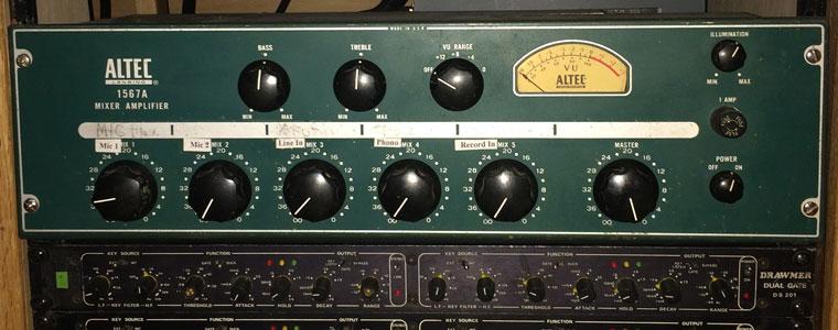 My Altec 1567 tube mixer
